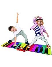 N-GEAR Rainbow Colours NG-GPM-PIANOMAT Reusachtig tapijt voor kinderen