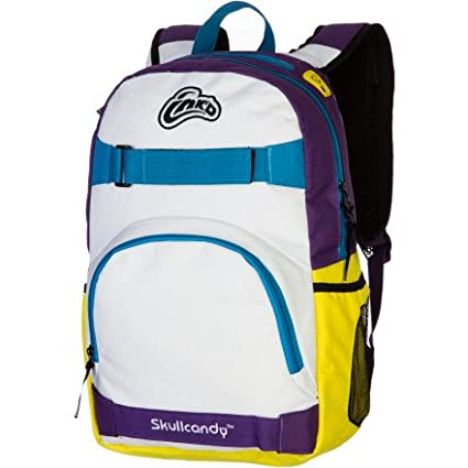 2f26e6c020c4 Skullcandy INK D Antic Backpack - Purple White Yellow  Amazon.ca   Electronics