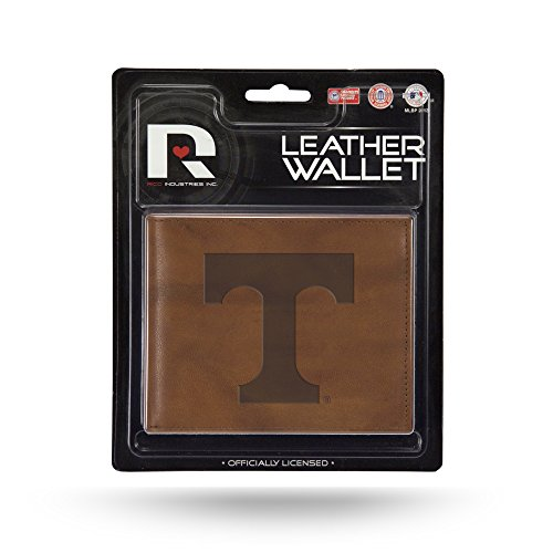 NCAA Tennessee Volunteers Embossed Leather Billfold Wallet with Man Made Interior