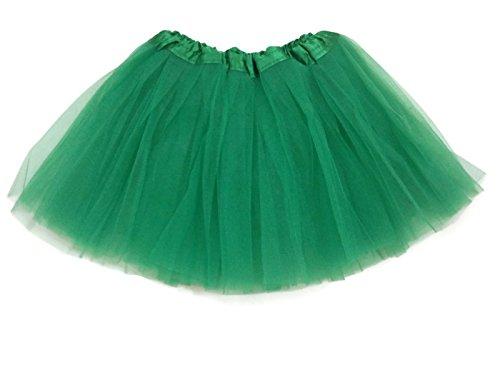 Rush Dance Ballerina Girls Dress-Up Princess Fairy Costume Recital Tutu (Kids 3-8 Years, Kelly (Green Fairy Costumes)