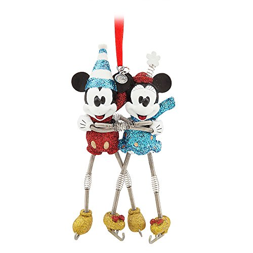 (Disney Mickey and Minnie Mouse Sketchbook Ornament - Vintage Toy Series)