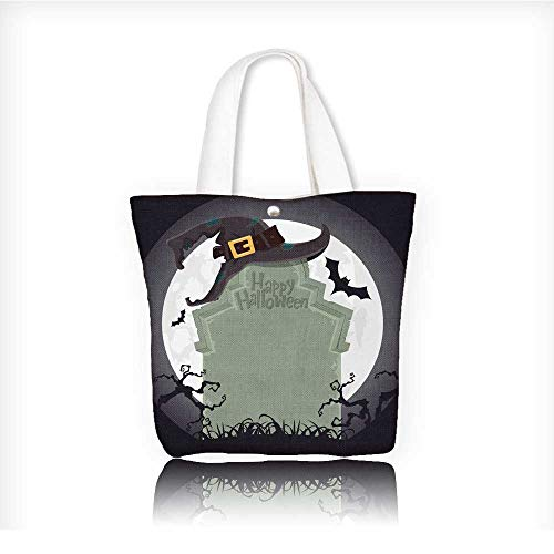 shopping tote bagfold up shopping bagCreepy tombstone and