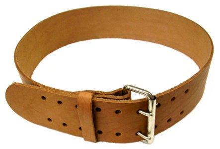 R & J Leathercraft 69805 3'' Wide Leather Tool Work Belt - 44'' Waist (980) by R & J Leathercraft