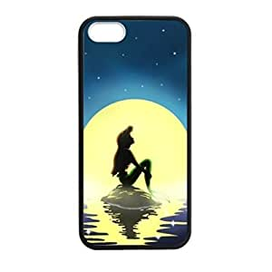 Ariel Little Mermaid pattern Image 4 Case Cover Hard Plastic Case tive Iphone 4s / Iphone for Iphone 4 4sprotec