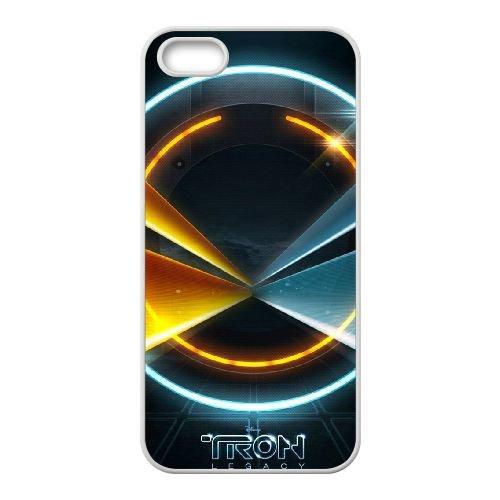 Tron 9 coque iPhone 4 4S cellulaire cas coque de téléphone cas blanche couverture de téléphone portable EOKXLLNCD20532