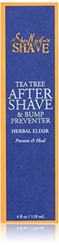 Shea Moisture Tea Tree After Shave & bump preventer herbal elixir 4 fl oz