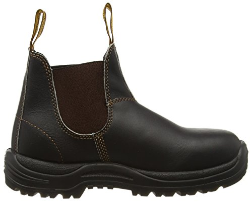 Blundstone Steel Toe Cap, Scarpe Antinfortunistiche Unisex-Adulto Marrone (Brown)