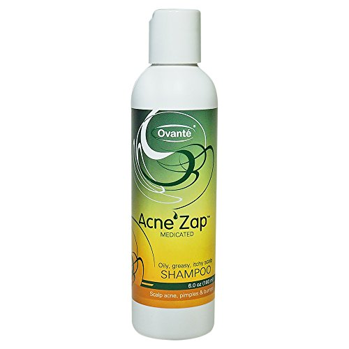 Shampoo for scalp acne – clear scalp from acne, zits and pimples.