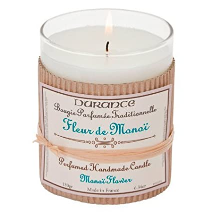 DURANCE Bougie Parfum Monoï