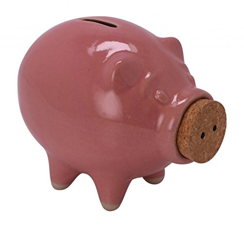 - Pike Place Pigs Medium Piggy Bank Pink
