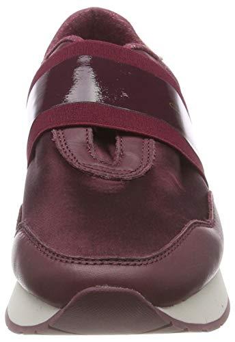 Zapatillas Cordones Port G590 para sin Wine Rojo Linda Red Mujer Gant wq5txv04w