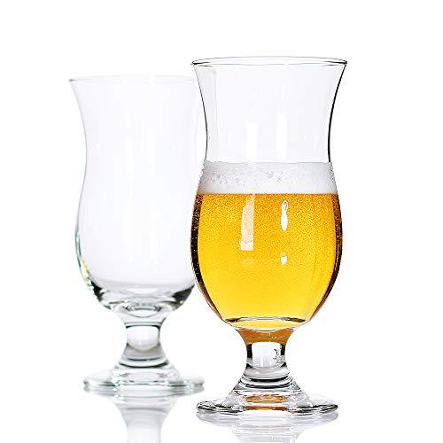 (Bavel Belgian Beer Glasses,Craft Stem Beer Glass,Tulips Style,Classics Beer Glass Stem,Ideal gift for the brewed beer lover,- 13 oz beer stemmed glasses,100% Lead-Free -Set of 2 (13 oz))