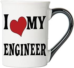I Heart My Engineer Mug, Engineer Coffee Cup, Engineer Funny Mug, Engineer Gifts By Tumbleweed