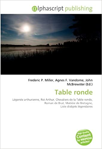 Amazon Fr Table Ronde Legende Arthurienne Roi Arthur