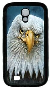 Popular Designed Bald Eagle Totem Custom Samsung Galaxy I9500/S4 Case Cover ¡§C PC ¡§C Black BY Xincase