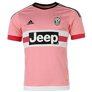 Adidas 1ª Equipación Juventus 2015/2016 Camiseta Oficial, Unisex Adulto, Rosa/Negro, M: Amazon.es: Deportes y aire libre