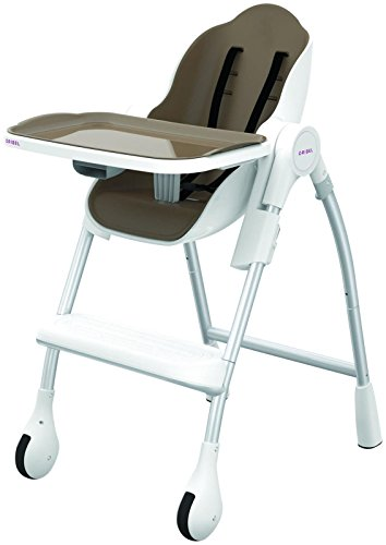 Oribel Cocoon 3-Stage High Chair, Almond