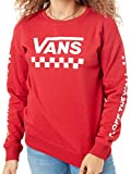 Vans Scooter Too Much Fun Crew Womens Sweater (M, Red)