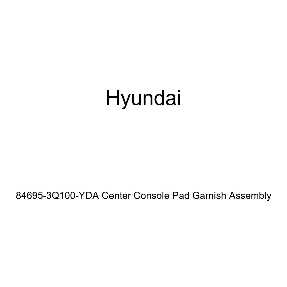 Genuine Hyundai 84695-3Q100-YDA Center Console Pad Garnish Assembly
