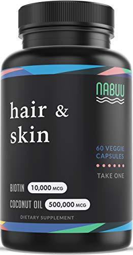 Nabuu Biotin 10000mcg Organic