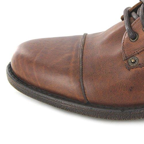 FB Fashion Boots Levi´s Footwear Emerson Brown/Herren Schnürstiefel Braun/Herrenstiefel/Urban Boots Medium Brown