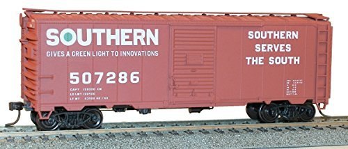 Accurail 35579 HO Scale KIT 40 FT AAR Single Door Boxcar - Southern Railway (Aar Door Boxcar Single)