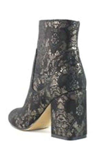 pour Fisher Black Femme Marc Fabric Bottes Multi w6HqAAEd