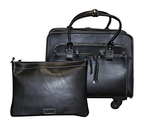 Simply Noelle Tied Up Roller Bag, Black by Simply Noelle