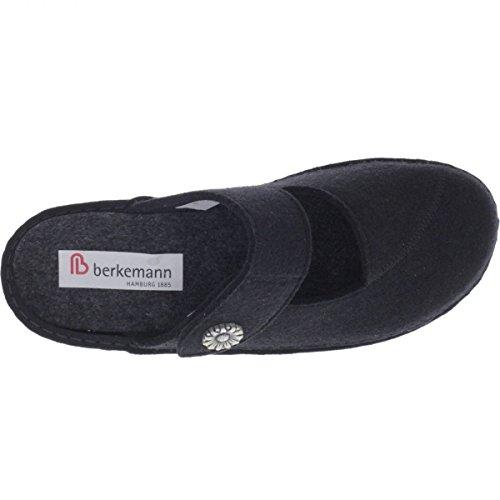 Donna 6 Formato Uk Pantofole Berkemann Nero Da 5PwxnqR6