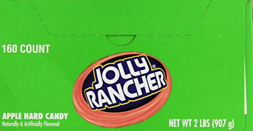Apple Jolly Rancher (Jolly Rancher Twist - Apple, 160 count)