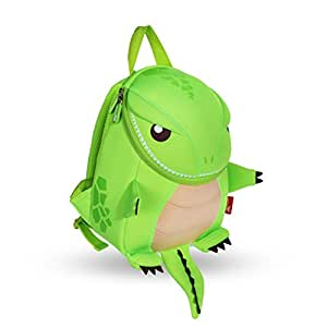 Coavas Toddler Kids Backpack Boys Kindergarten School Book Bags, Cute Dinosaur