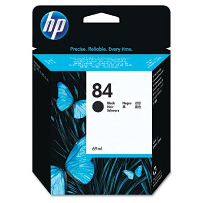 (HP C5016A  84 Black Ink Cartridge)