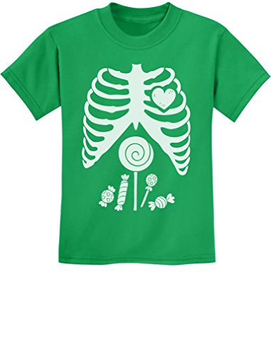 Children Skeleton Candy Rib-cage X-Ray Halloween Funny Kids