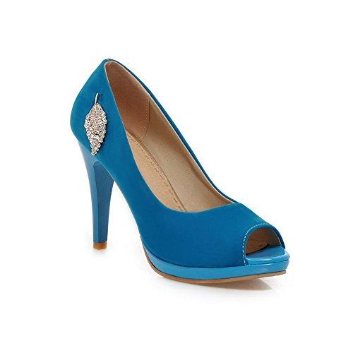 Sandalias de mujer vestir para Adee Azul 4An8v80H