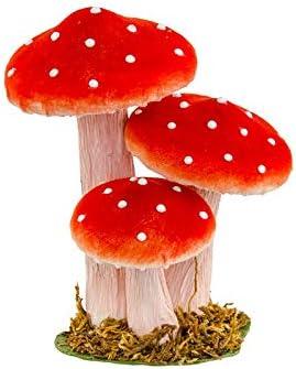 Genérico - Juego de 3 Setas (14 x 10,5 x 17 cm), Color Rojo: Amazon.es: Hogar