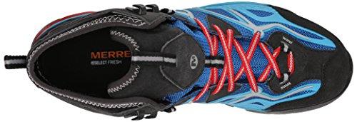 Merrell Capra Mid Sport GTX, Scarpe da Escursionismo Uomo Blu (Blu (Blue))