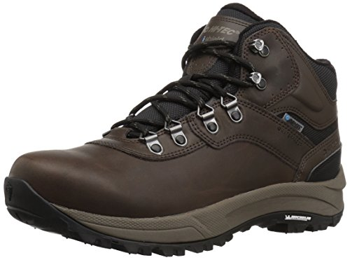 Hi-Tec Men's Altitude VI I Waterproof Hiking Boot, Dark Chocolate, 8.5 D US