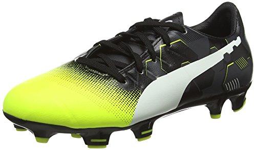 Puma EP3.3GrphFGJrF6, Botas de Fútbol infantil Amarillo (Yellow 01)