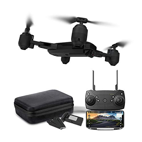 LikeroDrone x pro 5G Selfi WiFi FPV GPS,with 1080P HD Camera,Foldable RC Quadcopter,Beginners-Controlled Through The Mobile Phone App-One-Key Start&one-Key Landing (Black) by Likero (Image #8)