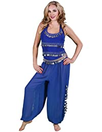 BellyDancer Costume Set   Harem Pants & Halter Top   Sadiqa II