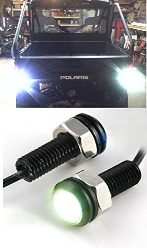 - Polaris Ranger LED Back-up Reverse Lights ATV RZR Sportsman