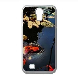 lintao diy Fish Watercolor style Cover Samsung Galaxy S4 I9500 Case (Sea Watercolor style Cover Samsung Galaxy S4 I9500 Case)