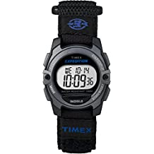 Timex Women's TW4B02400GP Expedition Digital Chronograph Alarm Timer Black and Blue Watch
