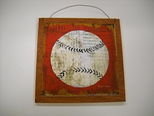 The Little Store Of Home Decor Baseball Sports Wall Art Sign