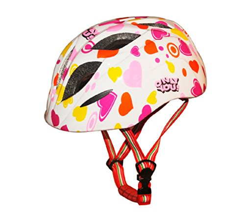 Kid's Cycling Bike Helmet Road Mountain Racing Rollerblading Skate Inline Skating Helmets for Children -White -  bingggooo, LYSB01K1RQYKQ-SPRTSEQIP