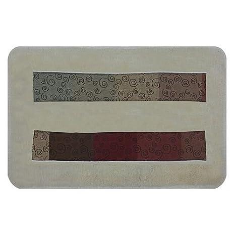 Popular Bath Shower Curtain Miramar Collection 70 x 72 Multicolor 70 x 72 420128