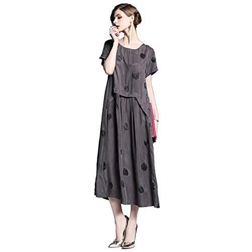 JBZYM VD79044C1 Long Skirt Short Sleeves Women Dresses - Size ()