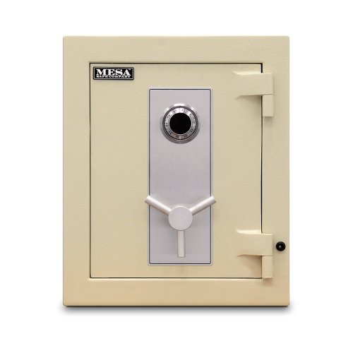 Mesa Safe MTLE1814 TL-15 All Steel Safe with U.L. listed Group 2 Combination Lock, 6.5-Cubic Feet, Parchment