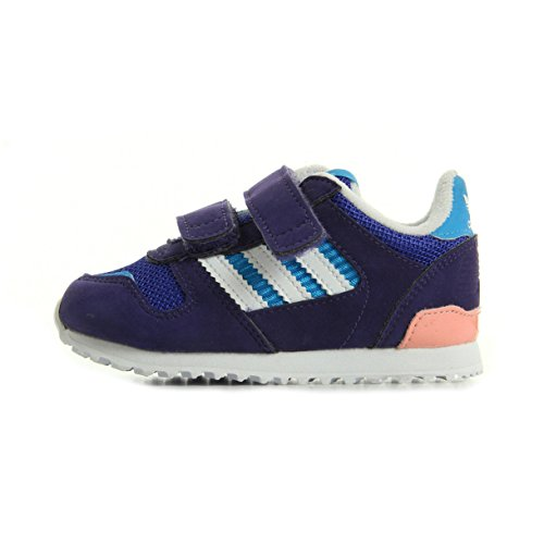adidas Kinder Sneaker ZX 700 CF M17021 night flash/ftwr white/dust pink, EU 22