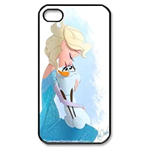 Disney Frozen Quotes Soft Rubber(TPU) Phone Case & Cover For Iphone 4 4S case cover FNWT-L869840